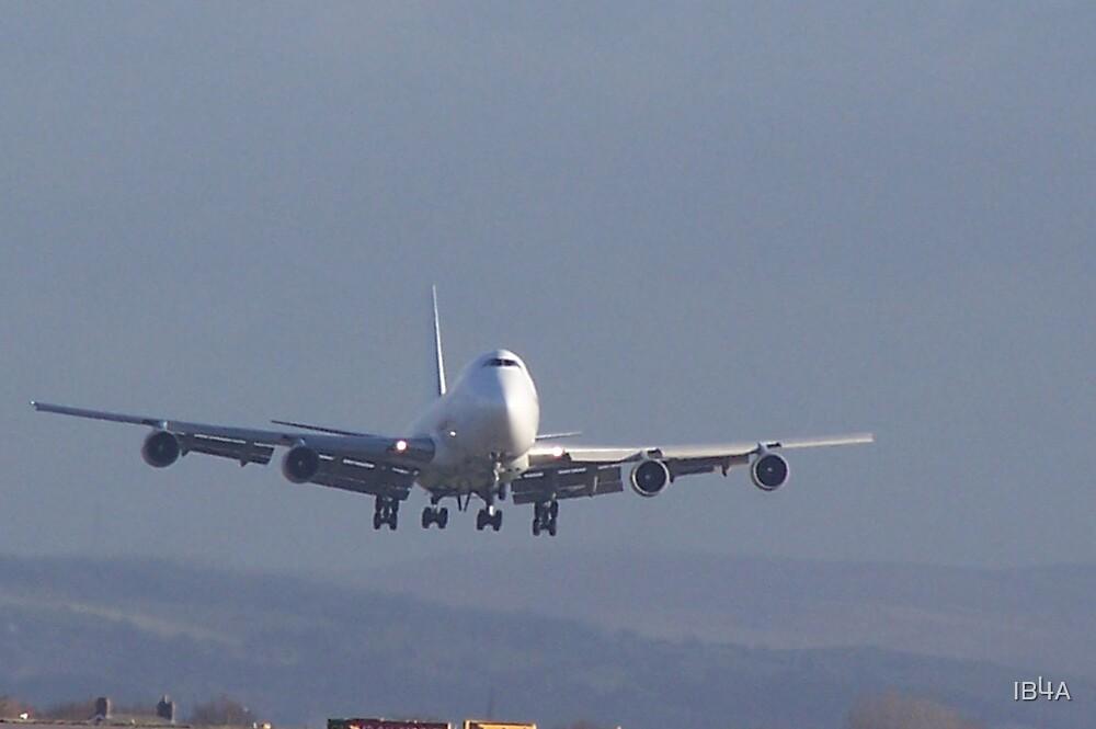 Landing aircraft by IB4A