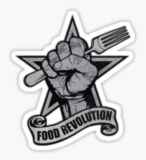 Food Revolution! Sticker