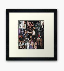 Collage Framed Print