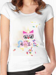 Unikitty Expert Women's Fitted Scoop T-Shirt