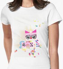 Unikitty Expert Womens Fitted T-Shirt