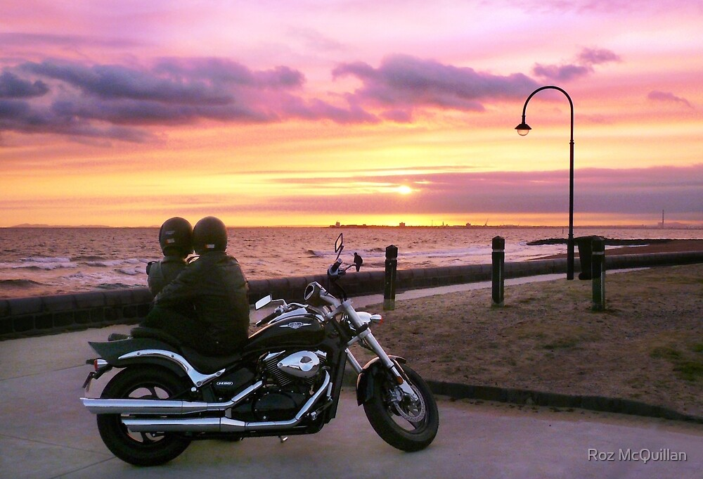 Sunsets are Still Romantic! by Roz McQuillan