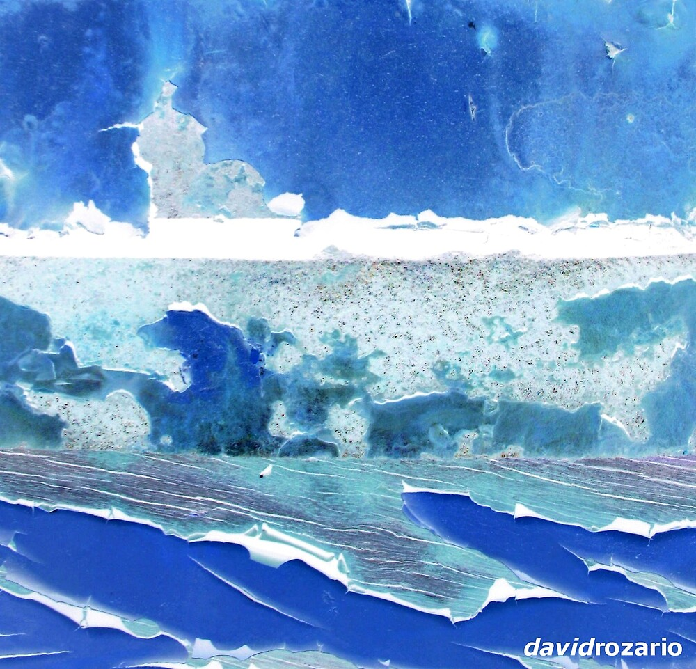 edges of the deep blue sea  by David Rozario
