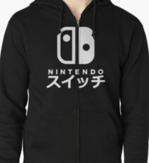 Nintendo Switch Japanese Zipped Hoodie