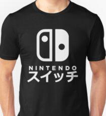 Camiseta ajustada Nintendo Switch japonés