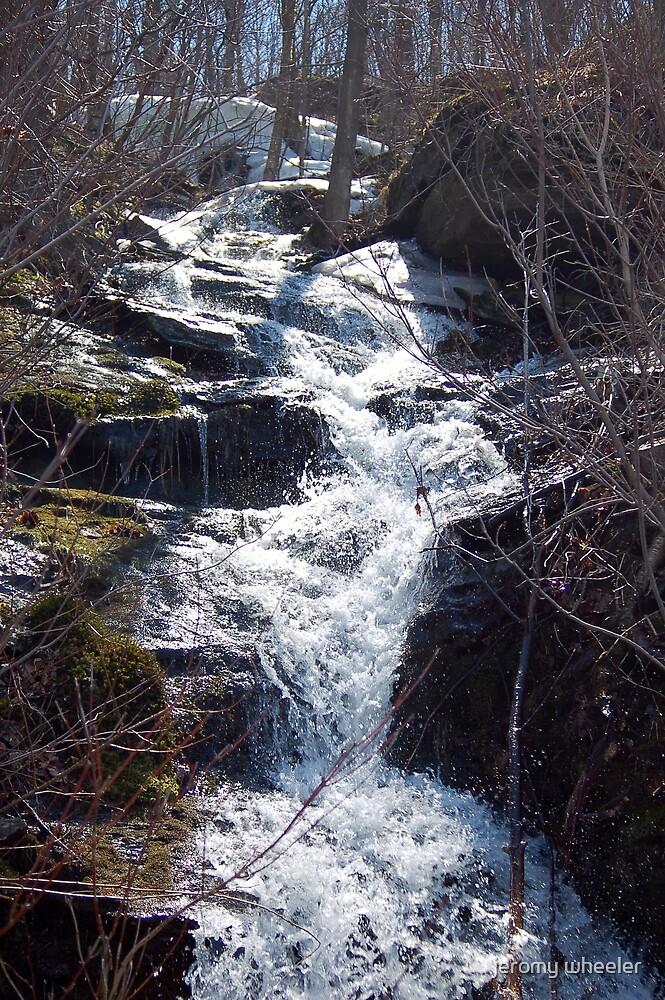 waterfall by jeromy wheeler
