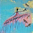 DANCER AND DRAGONFLIES 9 by Tammera