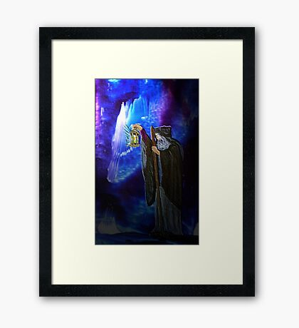 The Hermit Framed Print