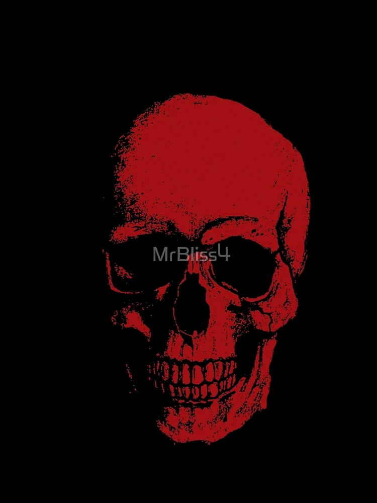 Skull - RED by MrBliss4
