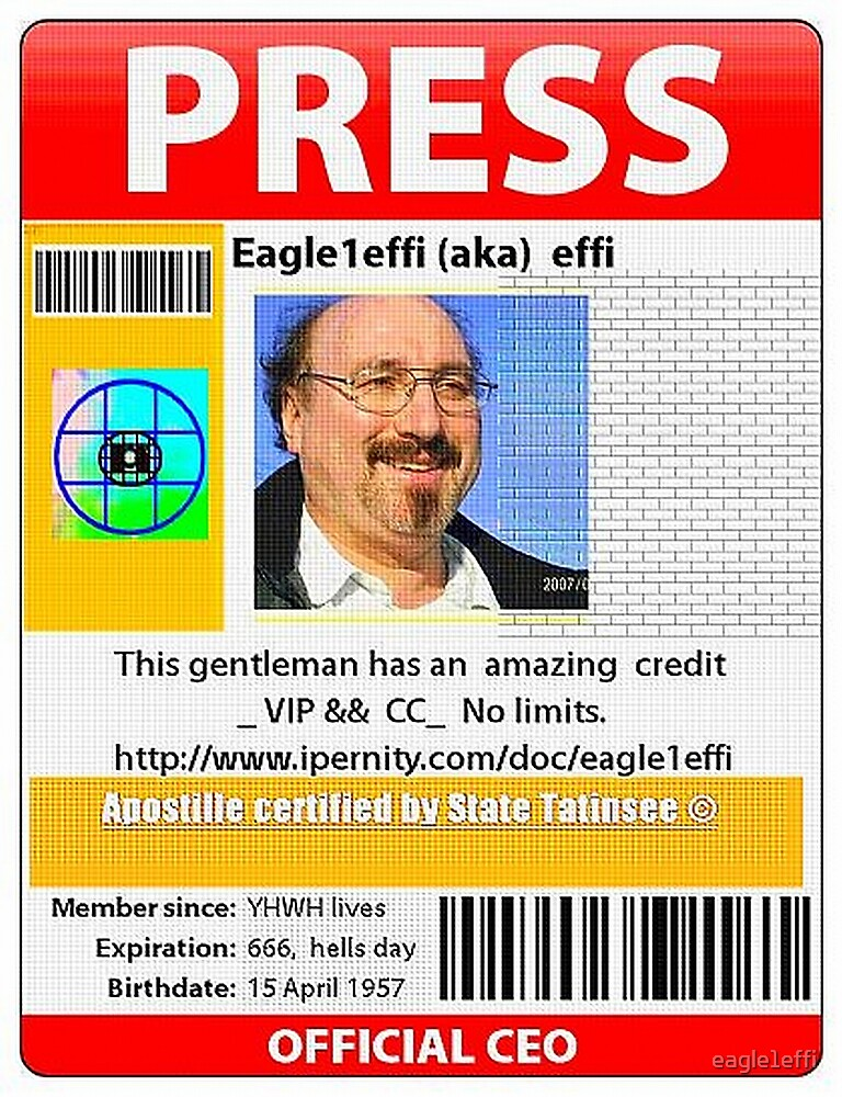 PRESS ID funny by eagle1effi