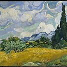 Wheat Field with Cypresses, Van Gogh by Rich Anderson