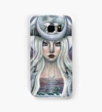 The Moon Tarot Card  Samsung Galaxy Case/Skin