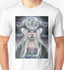 The Moon Tarot Card  Unisex T-Shirt