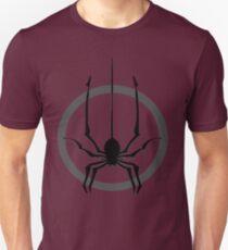 Spider falls. Unisex T-Shirt