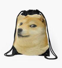 Doge wow Drawstring Bag