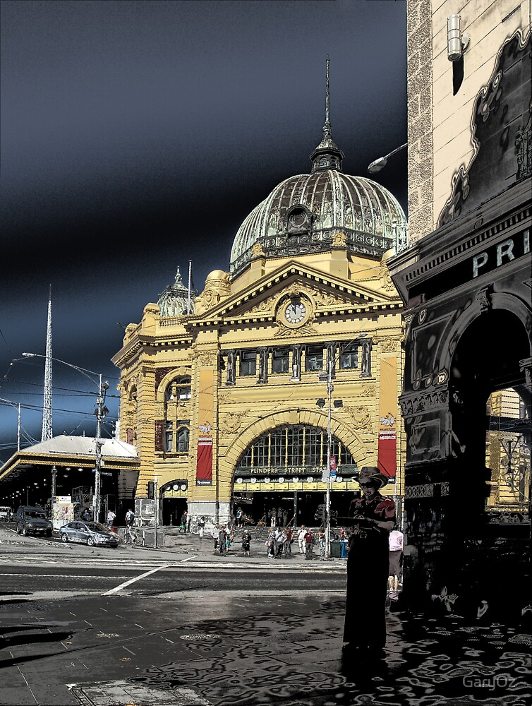 Melbourne's Flinders St Station by GaryOz