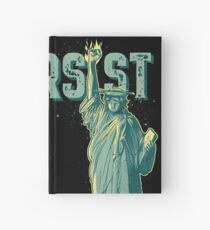 PERSIST - Lady Liberty Flaming Fist Hardcover Journal