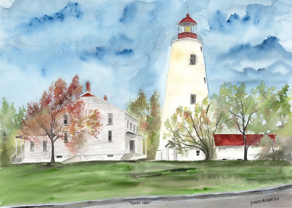 Sandy Hook Lighthouse by derekmccrea
