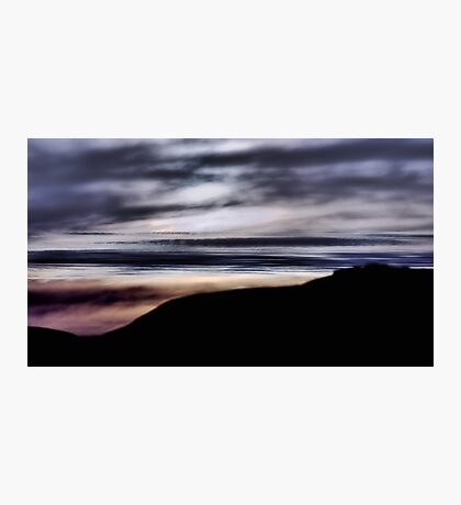 Late Afternoon Glow - Pescadero Photographic Print