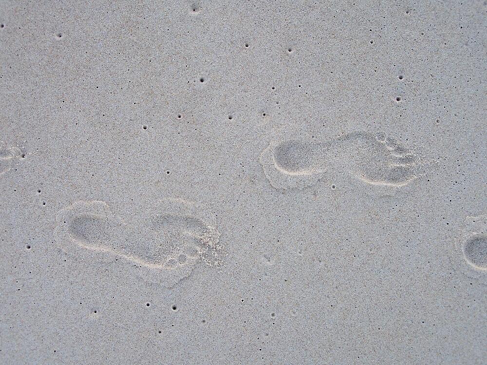 Footprints by Wendy
