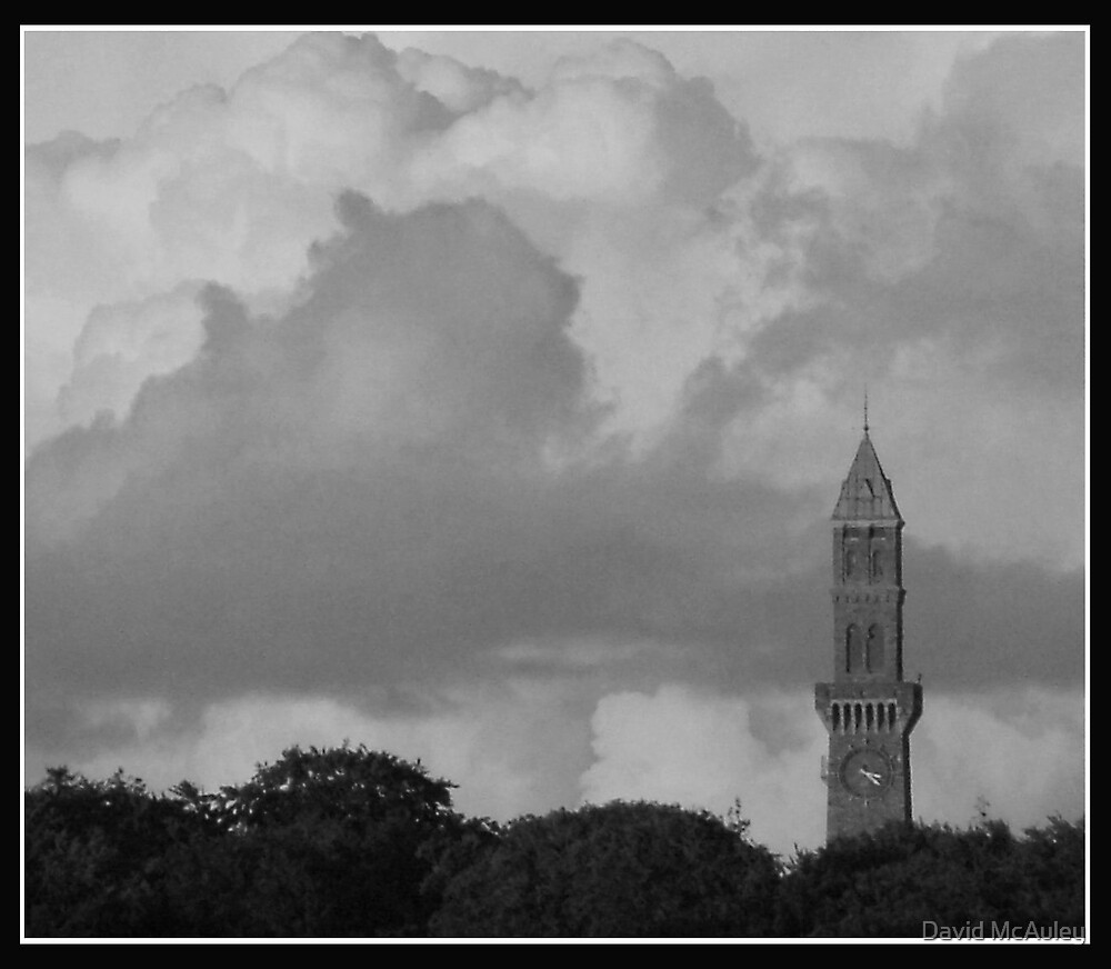 Tower in the Clouds by David McAuley