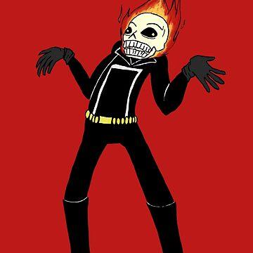 lol whut Ghost Rider by lucius0mega