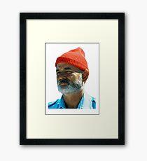 Steve Zissou - Bill Murray  Framed Print