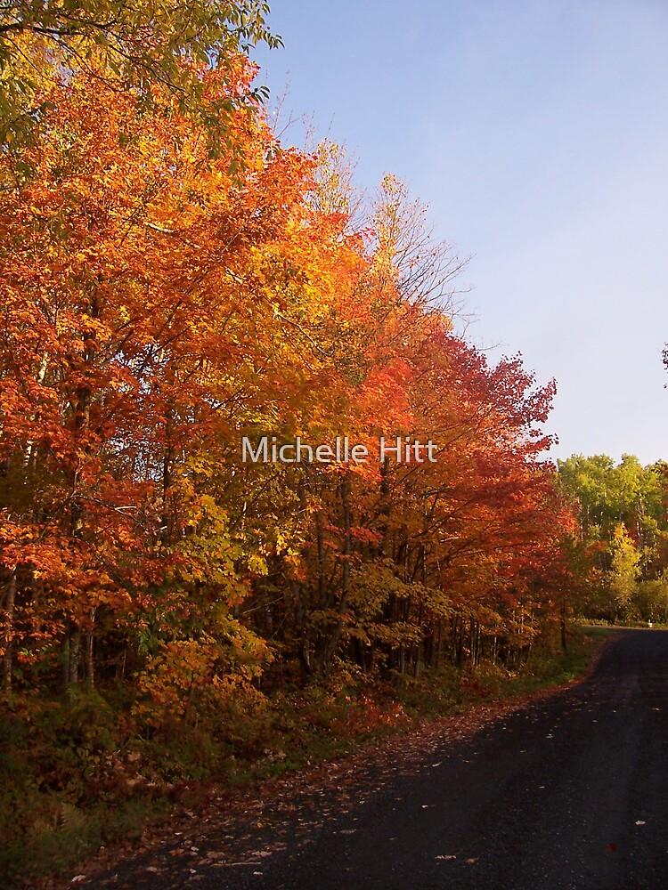 Autumn Fire by Michelle Hitt