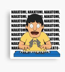 Bobs Burgers: Nakatomi Gene Canvas Print