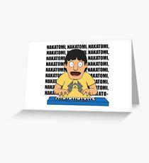 Bobs Burgers: Nakatomi Gene Greeting Card