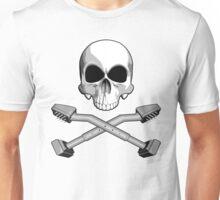 Flooring Skull: Carpet installer Unisex T-Shirt