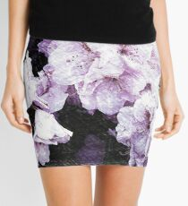 Rhododendrons In Art Mini Skirt