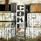 Coke sign, the old Abbottsford Convent  by Roz McQuillan