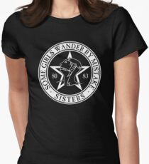The Sisters of Mercy - The World's End - Some Girls Wander by Mistake Women's Fitted T-Shirt