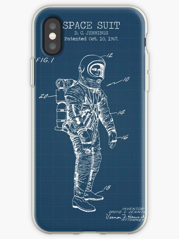 Space Suit Blueprint by muharko