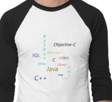 Programming Languages Men's Baseball ¾ T-Shirt