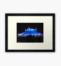 Space Mountain but different Framed Print