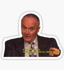 Creed Scuba Sticker