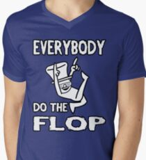 Do the FLOP! Men's V-Neck T-Shirt