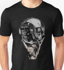 Jerry Garcia - Reflecting Sphere Unisex T-Shirt