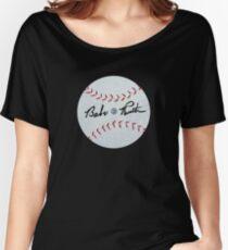 "THE ""BASEBALL  Women's Relaxed Fit T-Shirt"