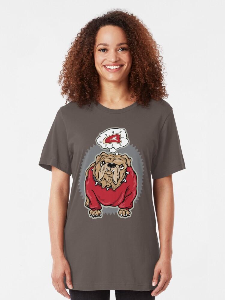 Alternate view of Bulldog  Slim Fit T-Shirt