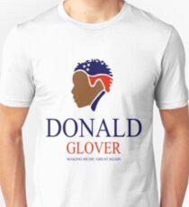 Donald Glover Donald Trump parody design Unisex T-Shirt