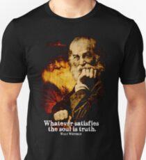 Walt Whitman amerikanischer Dichter Slim Fit T-Shirt