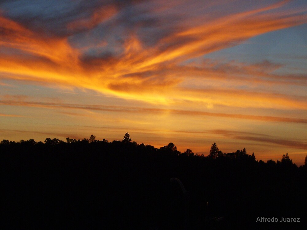 Lovely Sunset by Alfredo Juarez
