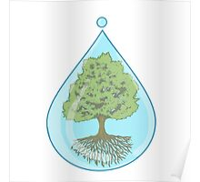 Save Trees Drawing Posters Redbubble