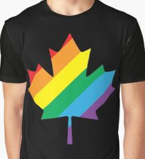 lgbt canada pride Graphic T-Shirt