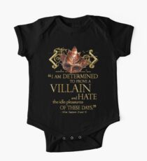 Shakespeare Richard III Villain Quote Kids Clothes