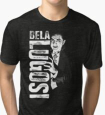 Dracula - Bela Lugosi - Vampire - The Count Tri-blend T-Shirt