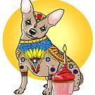 Art of Chihuahua by dvampyrelestat